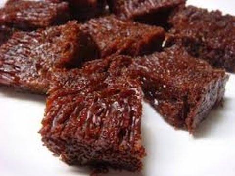 Resep Dan cara Membuat Bolu Caramel Sarang Semut Kenyal @Dafa TubeHD