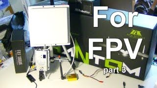 FPV Part 3: Ground Station from RMRC Unboxing and Setup