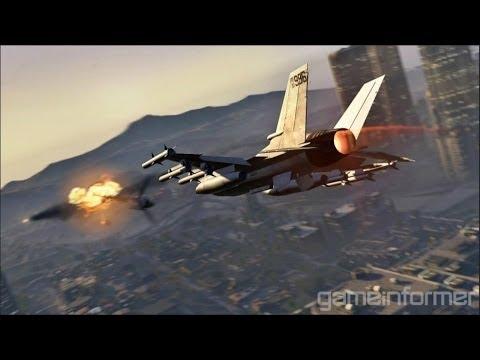 Avion de combate (HYDRA) del GTA 5!!! para GTA San Andreas