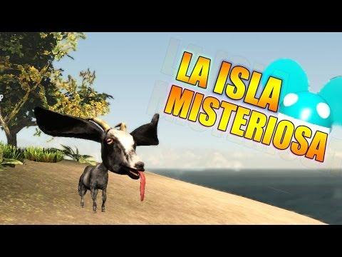 LA ISLA MISTERIOSA !! - Goat Simulator