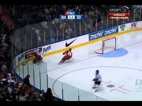 ЧМ по хоккею 2008. 1/4 финала. Россия - Швейцария