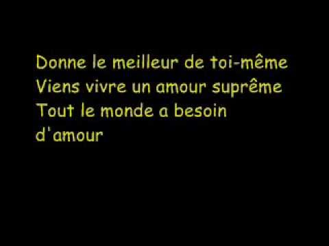 Robbie Williams - Supreme (French)