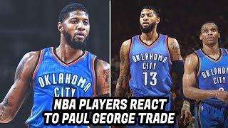 download lagu Nba Players React To Paul George Trade To The gratis
