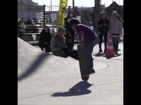 Freestyle progression from @yuzuk2609ikarin | Shralpin Skateboarding