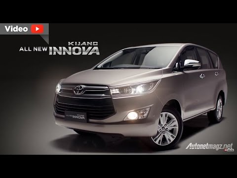 Video All New Toyota Kijang Innova 2016