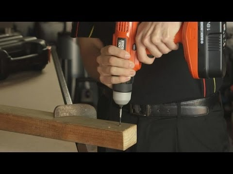 Tips on using a Power Drill