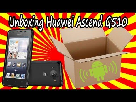Unboxing Huawei Ascend G510 - Orange Daytona