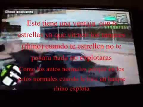 GTA:VICE CITY STORIES PSP TRUCO AUTO DESTRUIDO QUE SE PUEDE MANEJAR