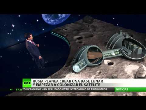 Rusia planea crear una base lunar con personal para buscar recursos naturales
