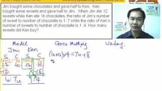 PSLE Math Question 18 Solution
