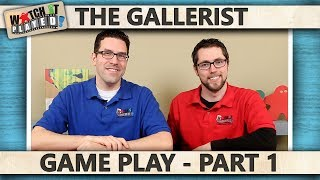 The Gallerist - Game Play 1
