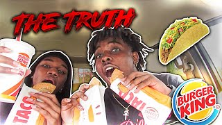 THE TRUTH ABOUT BURGER KINGS NEW TACOS😱!!!!
