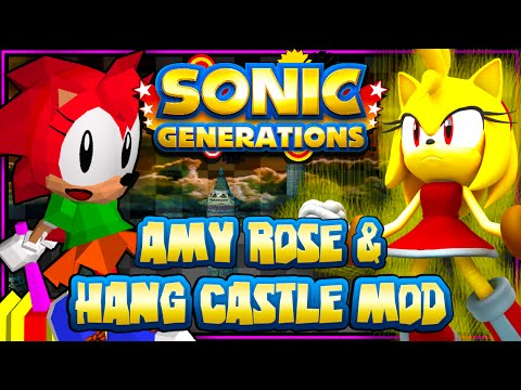 Sonic Generations PC - Amy Rose & Hang Castle Mod