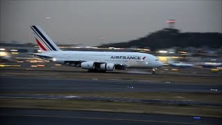 First time Air France Airbus A380-800  landing in Mexico City International Airport MEX/MMMX F-HPJH