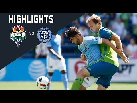 HIGHLIGHTS: Seattle Sounders FC vs New York City FC