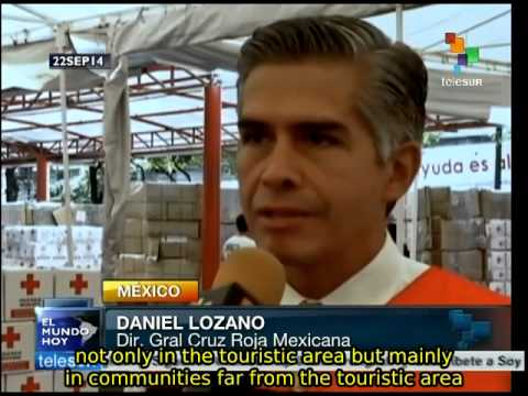 Mexico: Hurricane Odile victims' basic needs...