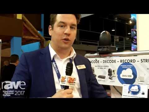 ISE 2017: Datavideo Talks About DVS-200 Streaming Server