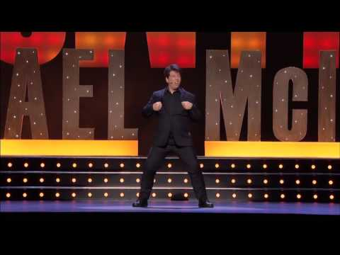 Michael McIntyre on Tights and Shoes - Michael McIntyre's 'Showtime' DVD out November 12