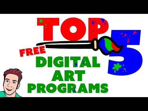 Top 5 BEST FREE ART SOFTWARE You Can Download Now 🎨
