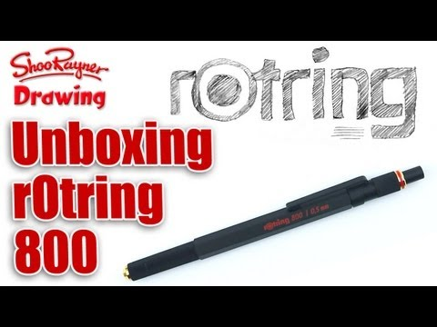 Unboxing the rOtring 800 Mechanical Pencil