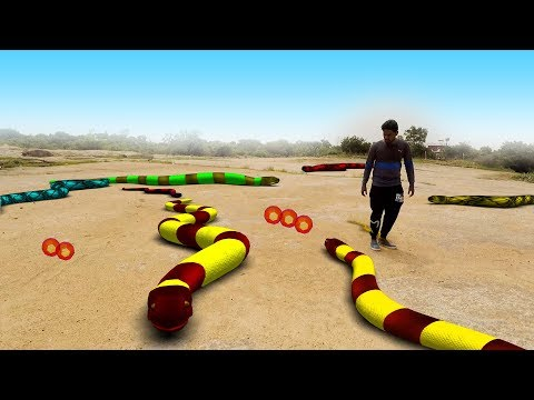 Slither io In Real Life