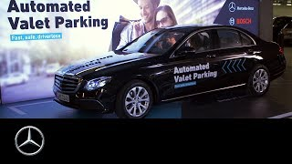Mercedes-Benz presents AVP: Bosch and Daimler realised Automated Valet Parking.