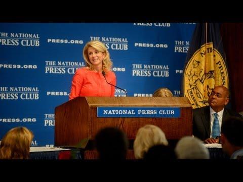 Wendy Davis Speaks at Aug. 5, 2013 National Press Club Luncheon