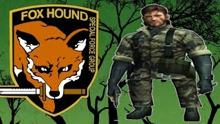 MGS3 - Highly Edited FOXHOUND Rank Playthrough