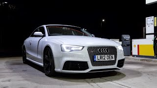 This *EXTREMELY* LOUD Audi RS5 will Hurt Your Ears!