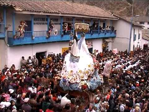 fiesta virgen carmen paucartambo: