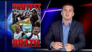 Brazil Protests Reach BOILING Point as Government's Approval PLUMMETS!  6/30/13
