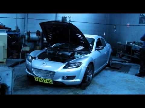 Mazda Rx8 - 2005 Uk 192bhp Modified - Fresh Build 1st Dyno Run - Built By G-mac video
