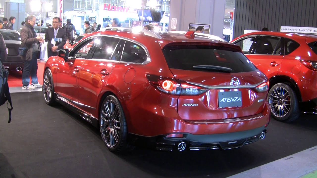 Modified Skyactiv Mazda6 Wagon Mazdas247 Com Youtube