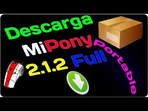 Descarga y Configura MiPony 2.1.2 Portable En Español Potente Gestor De Descargas Automático 2014