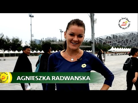 Agnieszka Radwanska | Beijing Full of Surprises Travel Show | Dubai Duty Free 2014