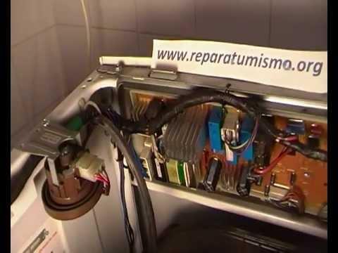 for Como reparar una lavadora