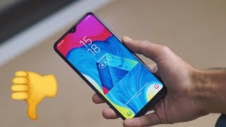 Don't Buy The Galaxy M10! Review After 30 Days