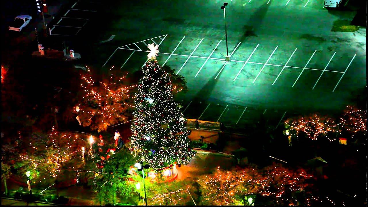 Christmas Lights In Texas