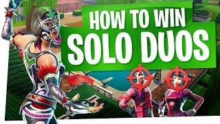 How to Win in Fortnite Season 5 - Solos vs Duos Tips - 1v2s