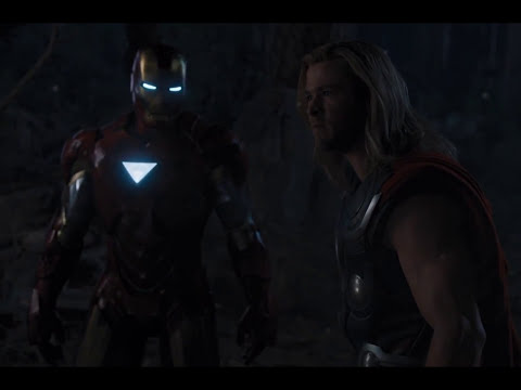 The Avengers Fight Scene: Thor vs Iron Man vs Captain America HD