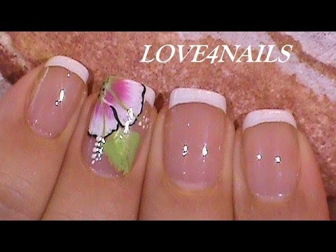Summer Wedding Bride Nail Design Tutorial