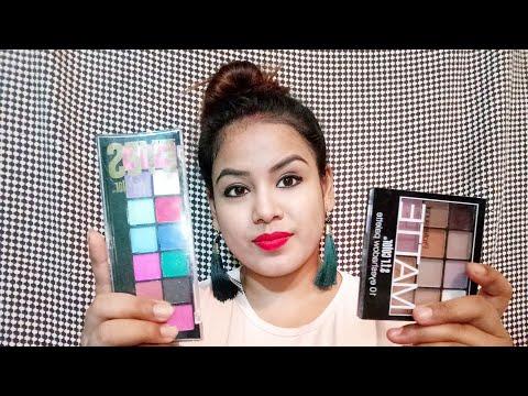Cuffs & lashes affordable eyeshadow haul  Jyoti tutorial