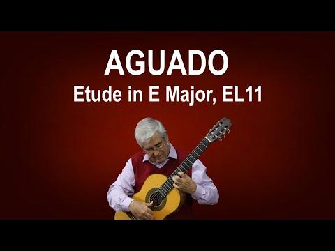 Dionisio Aguado - Study In D Major No 16
