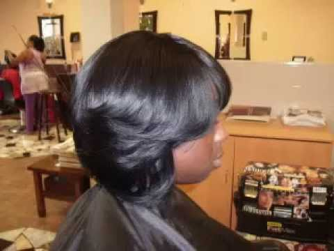 black hairstyles sew ins