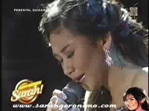 Sarah Geronimo - I Wanna Know What Love Is