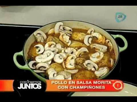 Pollo en Salsa Con Champiñones Pollo en Salsa Morita Con