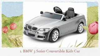 BMW Kids Car Collection - Modern Baby Toddler