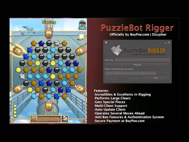 Puzzle Pirates Rigging Bot