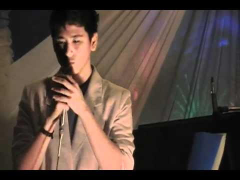 Mark Anthony Atienza singing You Are My Song/Music of the Night