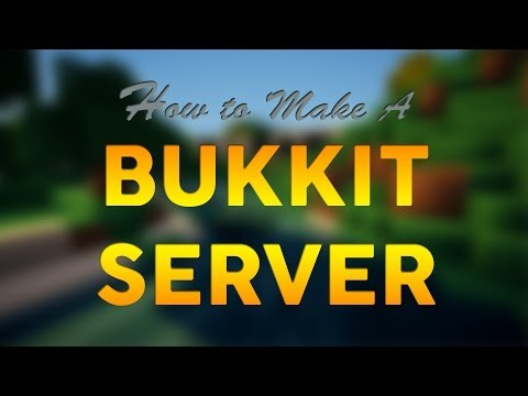 How To Make A Minecraft Bukkit Server 1.7.9/1.7.10/1.8 [Premade] [No Hamachi] - 2014 [HD]